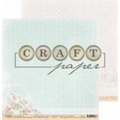 Лист бумаги для скрапбукинга CraftPaper ЛЮБОВЬ И ГОЛУБИ коллекция Вместе навсегда 30х30см