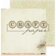 Набор бумаги для скрапбукинга CraftPaper АРОМАТЫ ЛЕСА 20х20см