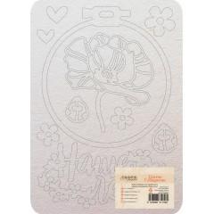 Набор чипборда CraftPaper НАШЕ ЛЕТО коллекция Цветик-семицветик