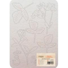 Набор чипборда CraftPaper ПРОГУЛКА коллекция Цветик-семицветик