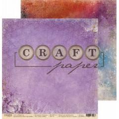 Лист бумаги для скрапбукинга CraftPaper ЗЕЛЬЕ ЛЮБВИ коллекция Алхимия 30х30см
