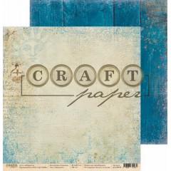Лист бумаги для скрапбукинга CraftPaper ЗВЕЗДОЧЕТ коллекция Алхимия 30х30см