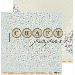 Лист бумаги для скрапбукинга CraftPaper ЗАРОСЛИ коллекция В мире снов 30х30см