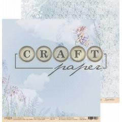 Лист бумаги для скрапбукинга CraftPaper СТРАНА ФЕЙ коллекция В мире снов 30х30см