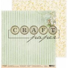 Лист бумаги для скрапбукинга CraftPaper НА КУХНЕ коллекция Пасха 30х30см