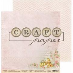 Лист бумаги для скрапбукинга CraftPaper ПОУТРУ коллекция Пасха 30х30см