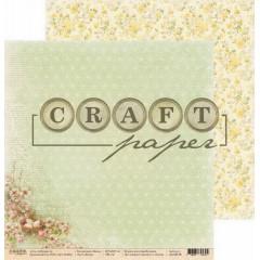 Лист бумаги для скрапбукинга CraftPaper ВЕСНА коллекция Пасха 30х30см