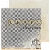 Лист бумаги для скрапбукинга CraftPaper BON VOYAGE коллекция Джентельмен 30х30см