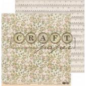 Лист бумаги для скрапбукинга CraftPaper ГОБЕЛЕН коллекция Бабушкин сундук 30х30см