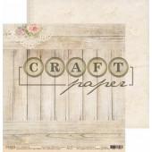 Лист бумаги для скрапбукинга CraftPaper БАБУШКИН СУНДУК коллекция Бабушкин сундук 30х30см