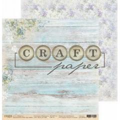 Лист бумаги для скрапбукинга CraftPaper БУКЕТ ДЛЯ ТЕБЯ коллекция Первоцветы 30х30см