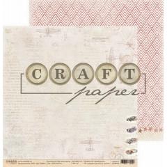 Лист бумаги для скрапбукинга CraftPaper В БЛОКНОТЕ коллекция Про мальчиков 30х30см