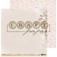 Набор бумаги для скрапбукинга CraftPaper ЧАЙНАЯ РОЗА 20х20см