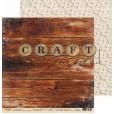 Набор бумаги для скрапбукинга CraftPaper ЧАЙНАЯ РОЗА 30х30см