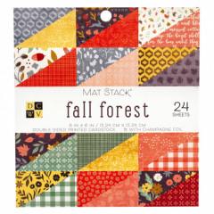 Набор бумаги для скрапбукинга DCWV FALL FOREST 15х15см