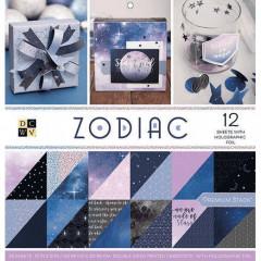 Набор бумаги для скрапбукинга DCWV ZODIAC 30х30см