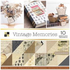 Набор бумаги для скрапбукинга DCWV VINTAGE MEMORIES 30х30см