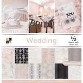 Набор бумаги для скрапбукинга DCWV WEDDING 30х30см