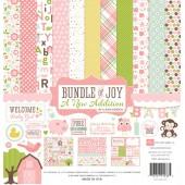 Набор бумаги Echo Park 30x30 Bundle of Joy 2 Girl полный, замятый угол (распродажа)