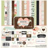 Набор бумаги Carta Bella 30x30 Rustic Elegance полный (распродажа)