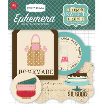 Набор высечек для украшения Carta Bella HOME SWEET HOME