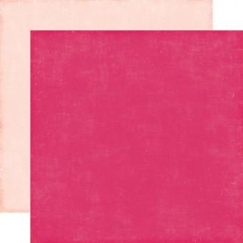 Лист бумаги для скрапбукинга Echo Park РОЗОВЫЙ коллекция Petticoats 30х30см