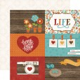 Набор бумаги для скрапбукинга Echo Park I LOVE FAMILY 30х30см