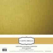 Лист блестящего кардстока Carta Bella GOLD SHIMMER 30х30см