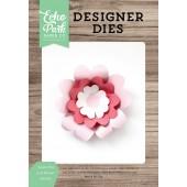 Набор ножей для вырубки Echo Park SWEET PEA 3D FLOWER объемный цветок