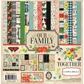 Набор бумаги для скрапбукинга Carta Bella OUR FAMILY 30х30см