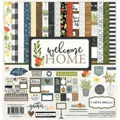 Набор бумаги для скрапбукинга Carta Bella WELCOME HOME 30х30см