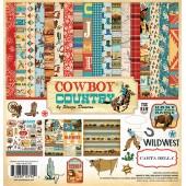 Набор бумаги для скрапбукинга Carta Bella COWBOY COUNTRY 30х30см