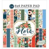 Набор бумаги для скрапбукинга Carta Bella FLORA No.2 15х15см