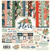 Набор бумаги для скрапбукинга Carta Bella FLORA No.2 30х30см