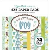 Набор бумаги для скрапбукинга Echo Park SWEET BABY BOY 15х15см