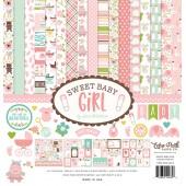 Набор бумаги для скрапбукинга Echo Park SWEET BABY GIRL 30х30см