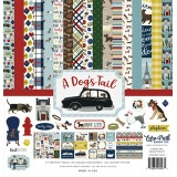 Набор бумаги для скрапбукинга Echo Park A DOG'S TAIL 30х30см