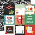 Набор бумаги для скрапбукинга Echo Park BACK TO SCHOOL 30х30см