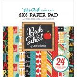 Набор бумаги для скрапбукинга Echo Park BACK TO SCHOOL 15х15см