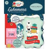 Набор высечек для украшения Carta Bella PACK YOUR BAGS
