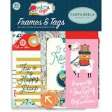 Набор высечек и тегов для украшения Carta Bella PACK YOUR BAGS