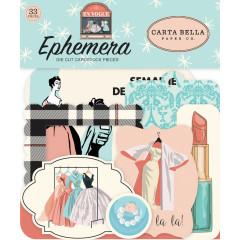 Набор высечек для украшения Carta Bella EN VOGUE