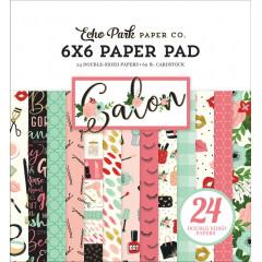 Набор бумаги для скрапбукинга Echo Park SALON 15х15см