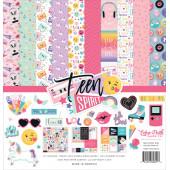 Набор бумаги для скрапбукинга Echo Park TEEN SPIRIT GIRL 30х30см