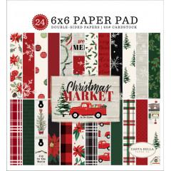 Набор бумаги для скрапбукинга Carta Bella CHRISTMAS MARKET 15х15см