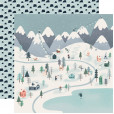 Набор бумаги для скрапбукинга Carta Bella SNOW MUCH FUN 30х30см