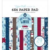 Набор бумаги для скрапбукинга Echo Park MY FAVORITE WINTER 15х15см