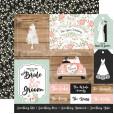 Набор бумаги для скрапбукинга Echo Park OUR WEDDING 30х30см