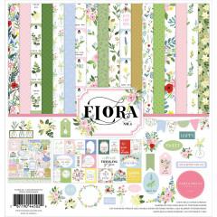 Набор бумаги для скрапбукинга Carta Bella FLORA No.4 30х30см
