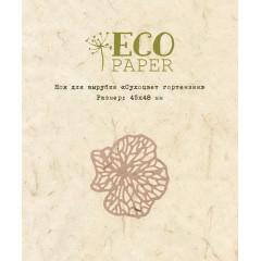 Нож для вырубки EcoPaper СУХОЦВЕТ ГОРТЕНЗИИ